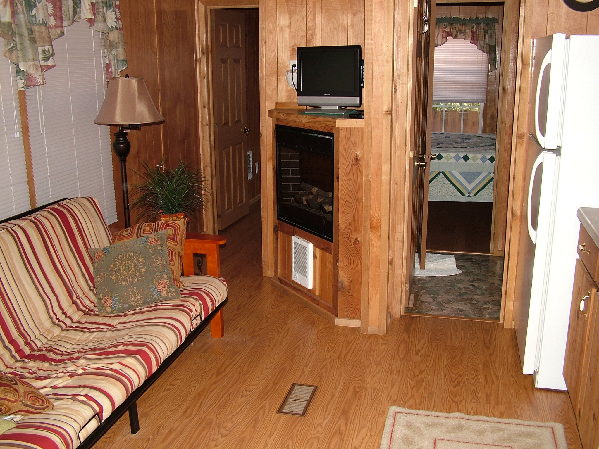 interior photo of cabin