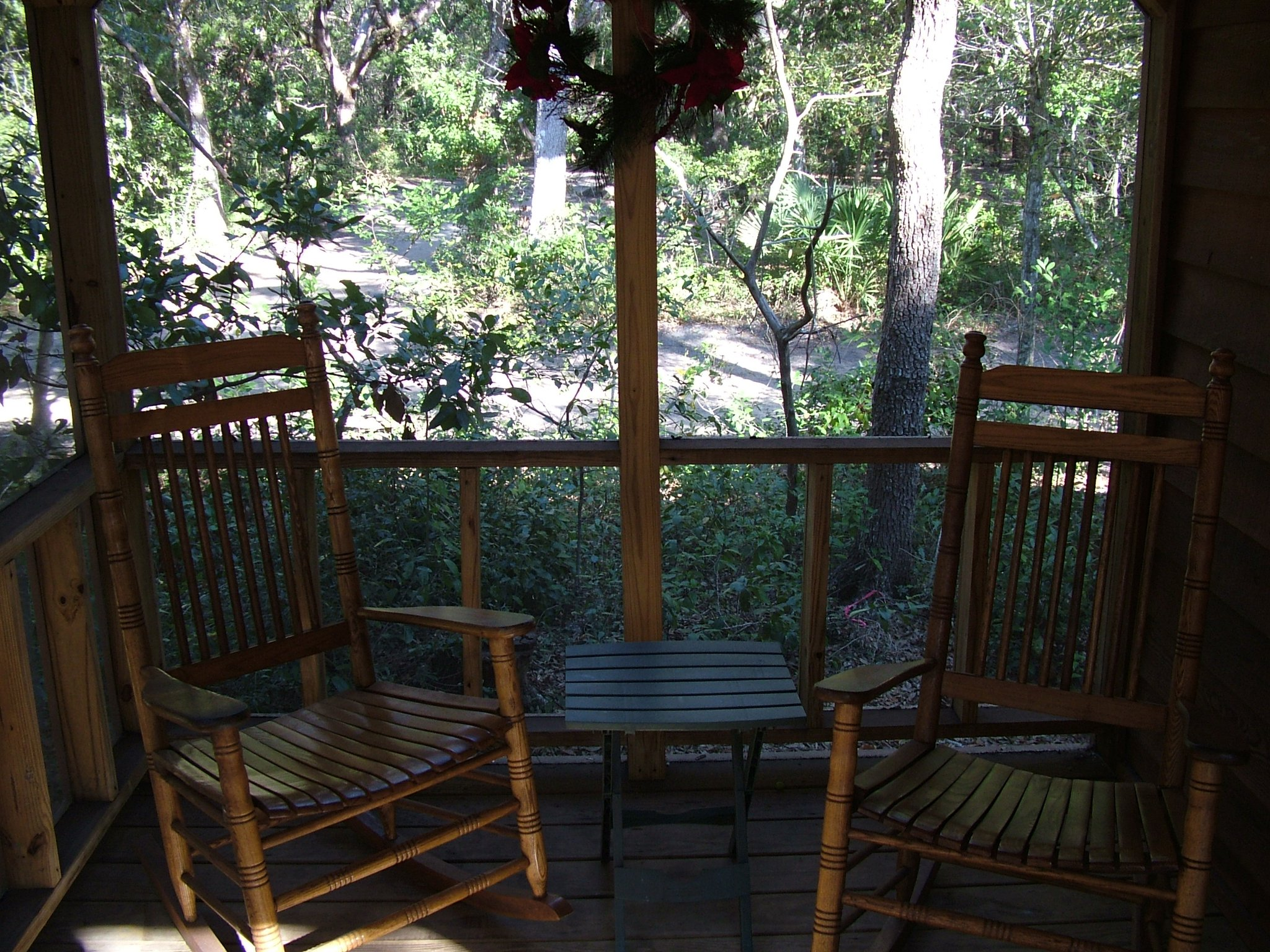 deck on cabin