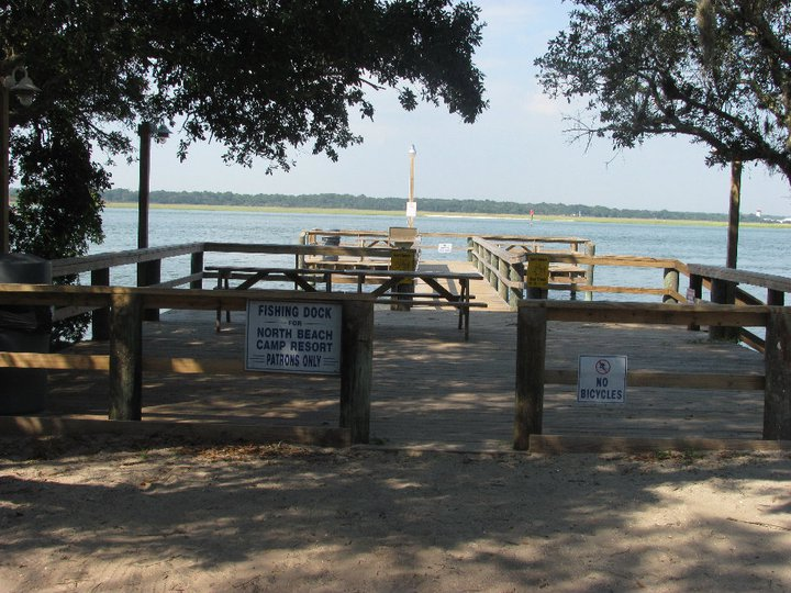 walkway to dock