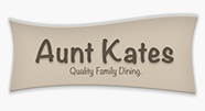 aunt kates quality family dining logo