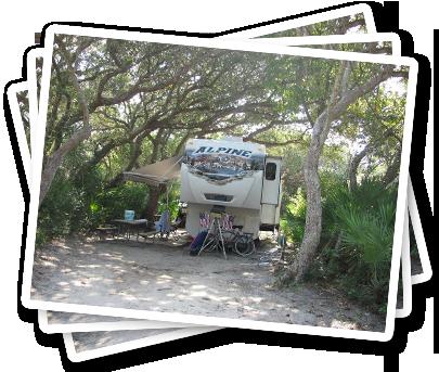 North Beach Campground Premier St Augustine Florida